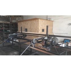 Торцовочный станок для бруса, доски ТСБ - 450